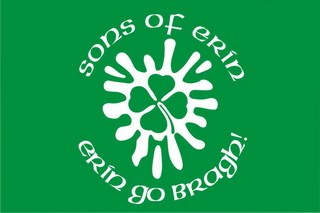 Флаг пейнтбольной Команды Ирландцы