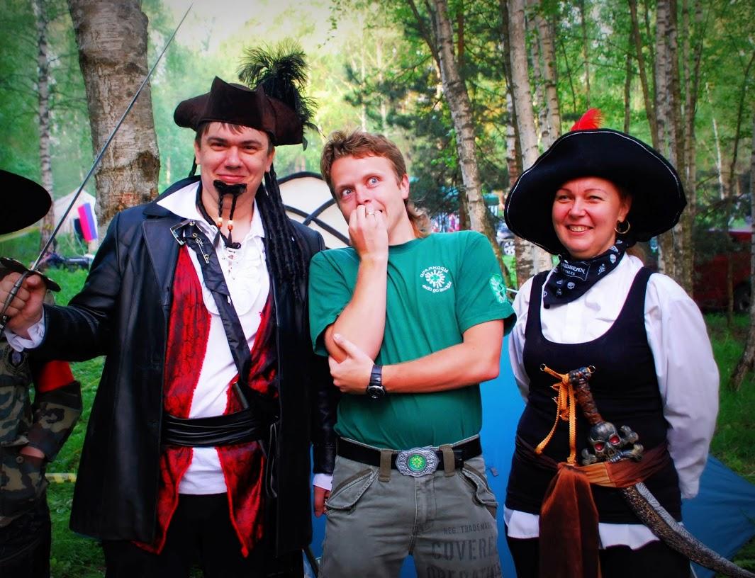 """18.05.2013 Капитан пк """"Ирландцы"""" и пираты :)"""