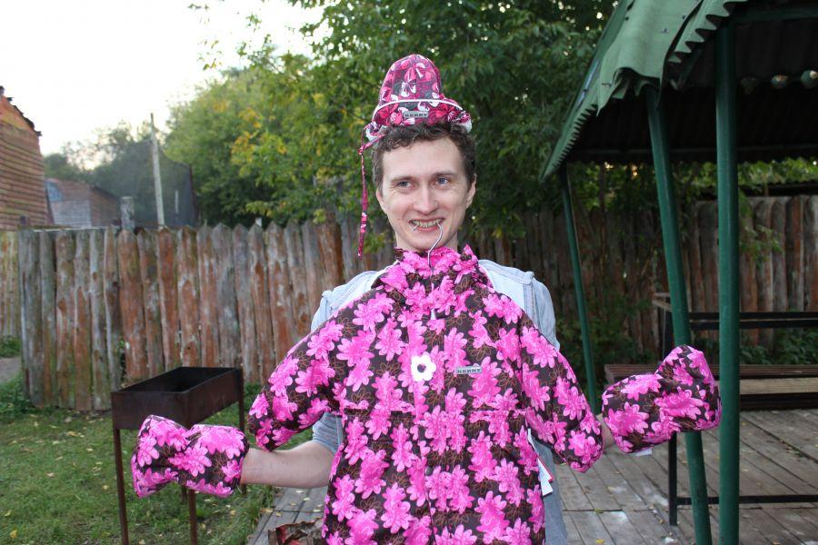 Боец пк Ирландцы: Drey - счастливый папа новорожденной дочурки. Розовый подарок от Команды.