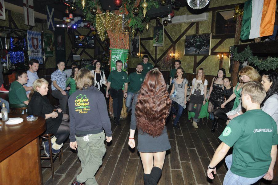 Мастер класс по Ирландским танцам (джига)