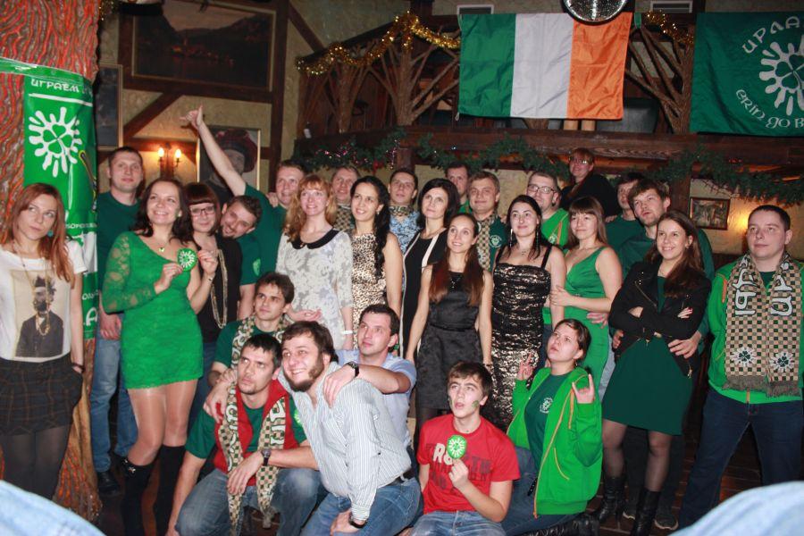 22 декабря 2013 года IRISH HAPPY NEW YEAR PARTY !!!