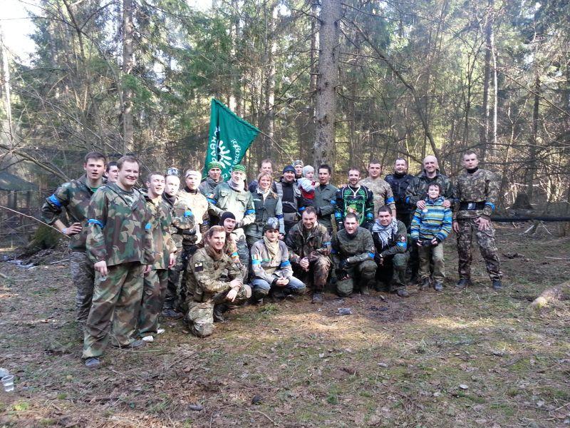 Пейнтбольная Команда Ирландцы в ТопГане. Победа!!!