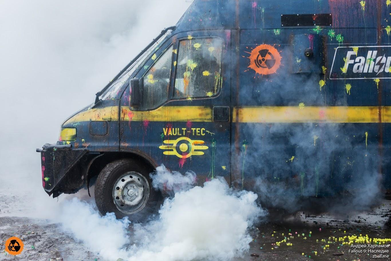 Техника, гранаты, гранатометы, дымы - важные составляющие сценарки