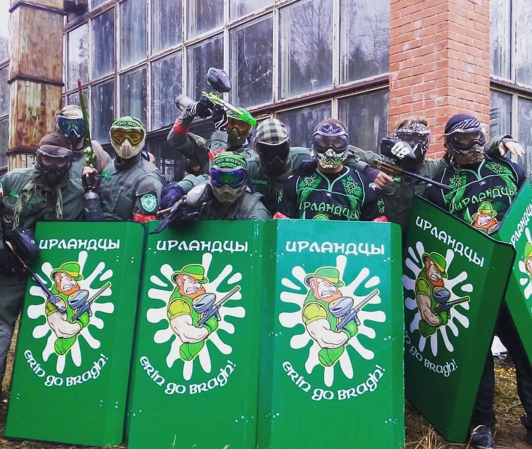 Пейнтбольная Команда Ирландцы