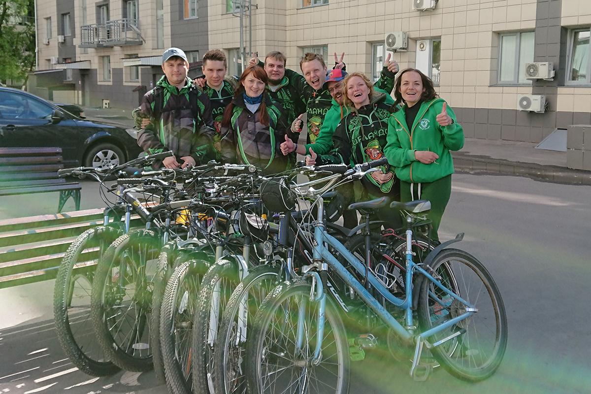 Ирландцы на Велопараде 28.05.2017